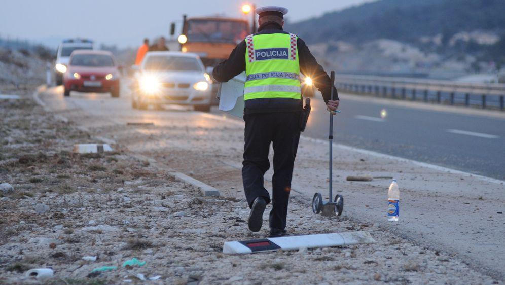 Policijski očevid na autocesti, ilustracija (Foto: Hrvoje Jelavic/PIXSELL)