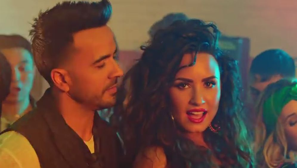 Luis Fonsi i Demi Lovato (FOTO: Screenshot/YouTube)