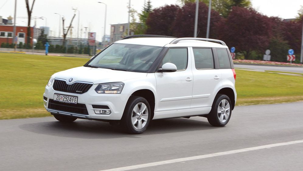 TEST RABLJENOG Škoda Yeti 1.6 TDI - 2