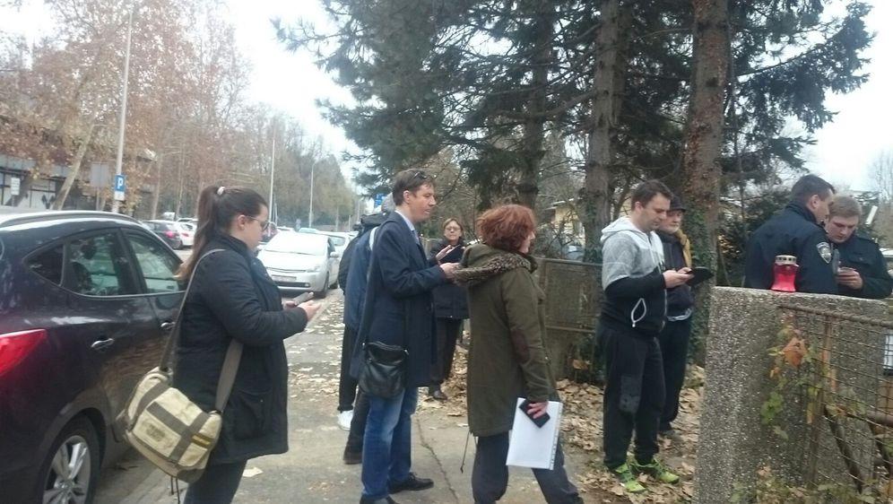 Prosvjed stanovnika Sigeta (Foto: Dnevnik.hr)