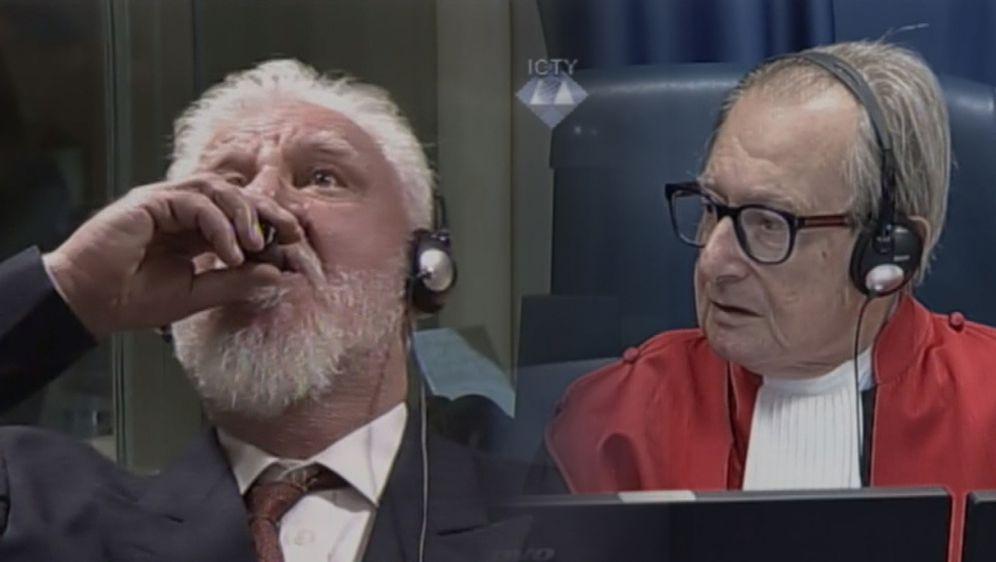 Praljak u sudnici (Foto: Dnevnik.hr)