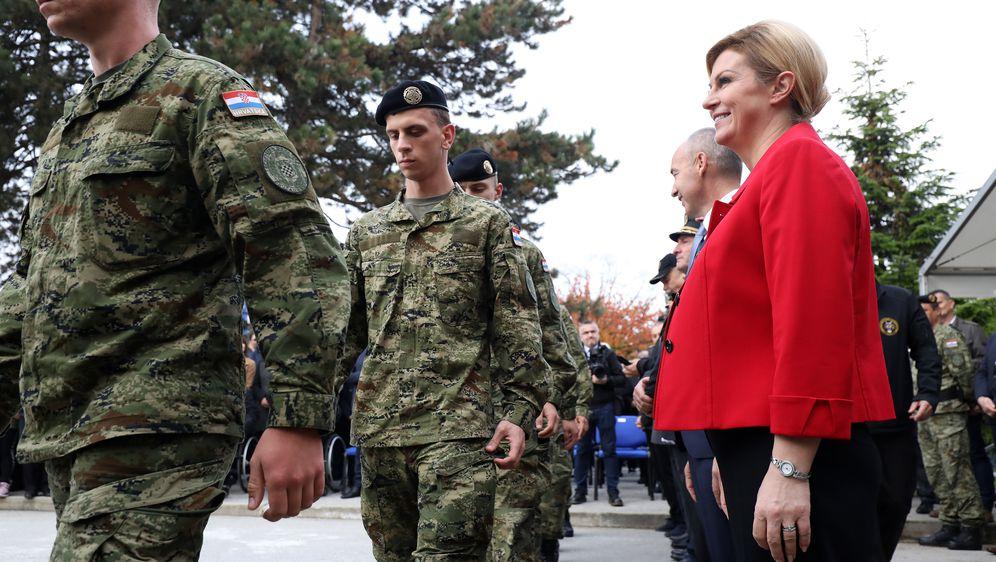 Obilježena 28. obljetnica ustrojavanja 1. gardijske brigade Tigrovi (Foto: Jurica Galoic/PIXSELL)