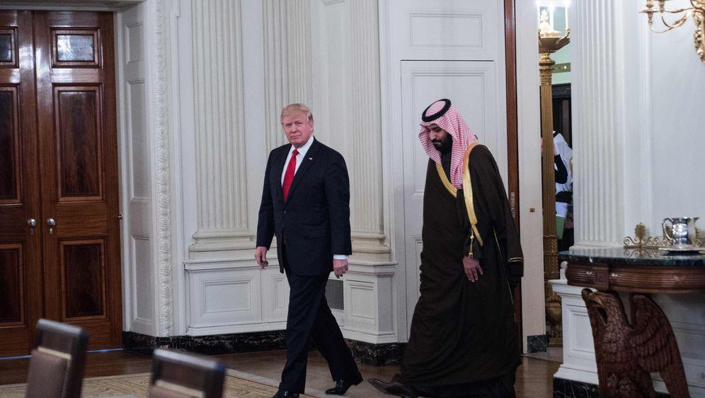 Donald Trump i Mohammed bin Salman (Foto: AFP)