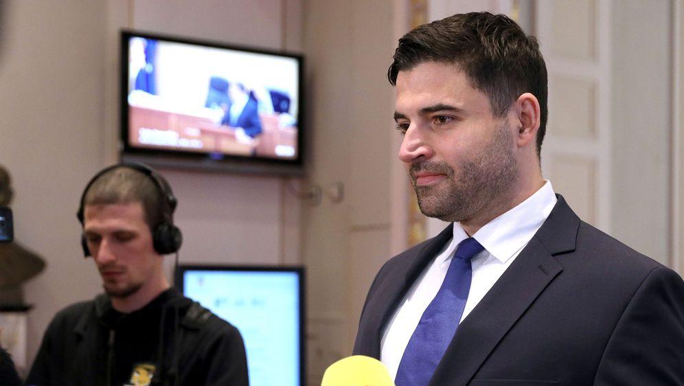 Bernardić održao konferenciju za medije (Foto: Patrik Macek/PIXSELL)