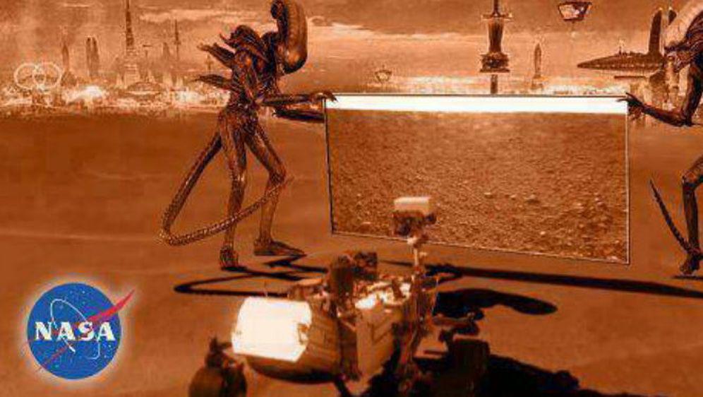 Mars (Foto: Twitter)