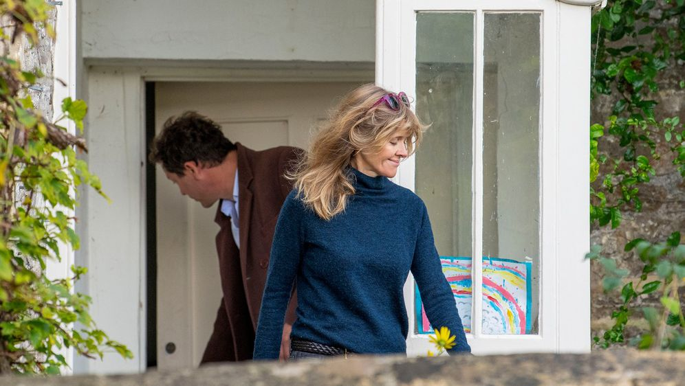 Catherine FitzGerald i Dominic West