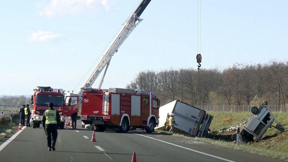 Strašna nesreća na A1 - 4 poginulih 5 ozlijeđenih - 3