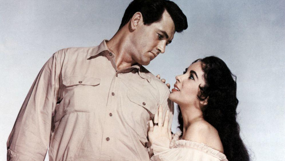 Rock Hudson s kolegicom Elizabeth Taylor koja je potvrdila da je glumac bio gay