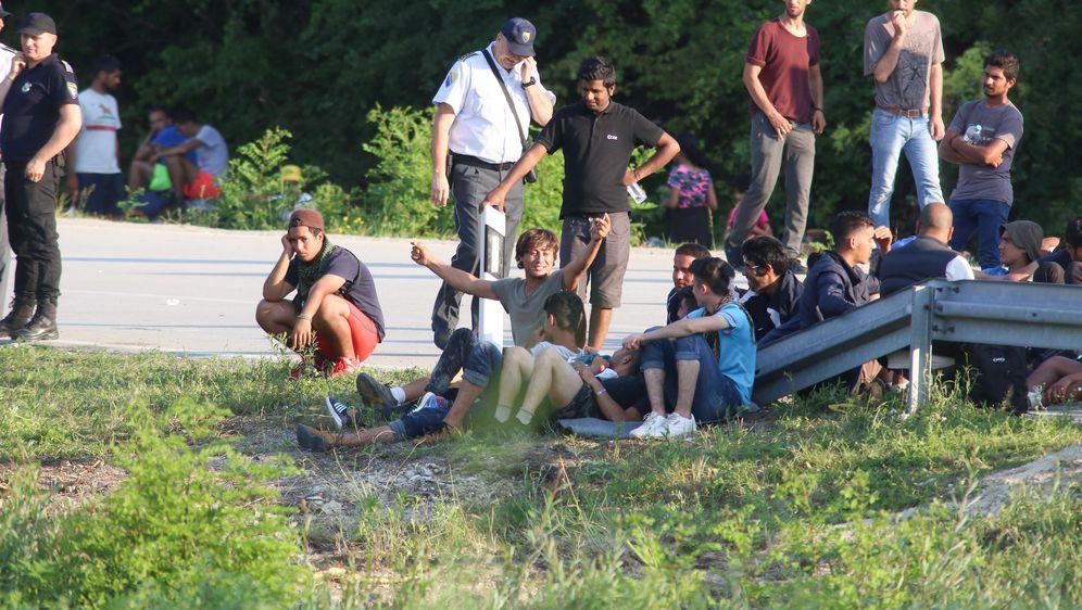Migranti,ilustracija (Foto: Matija Habljak/PIXSELL)