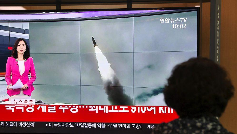 Ispaljivanje projektila (Foto: AFP)