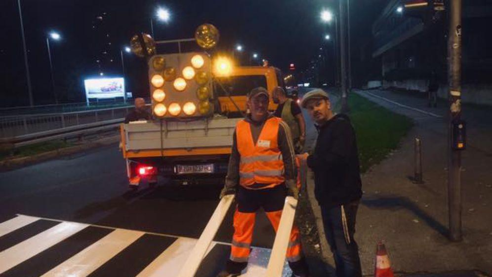 Milan Bandić/Dario Juričan obilazi radnike Zagrebačkog holdinga (Foto: Facebook redatelja Milana Bandića)