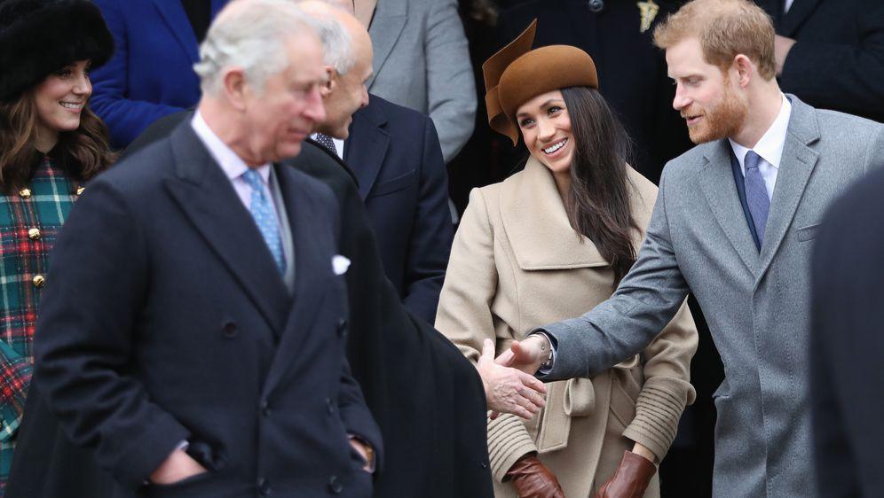 Princ Charles, Meghan Markle i princ Harry (Foto: Getty Images)