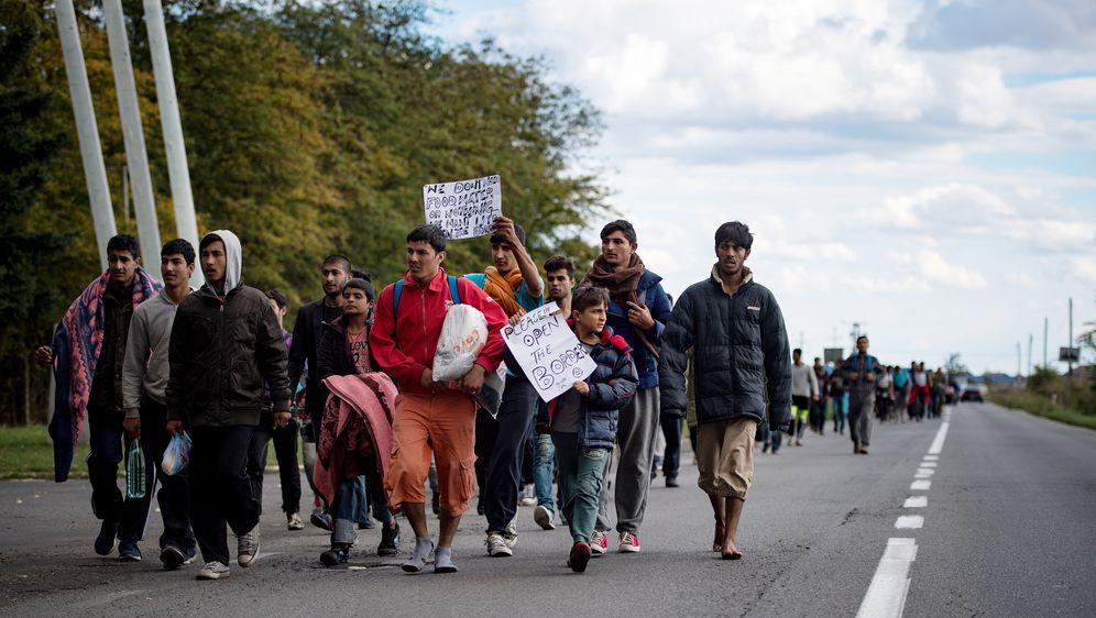 Ilegalni migranti (Foto: AFP)