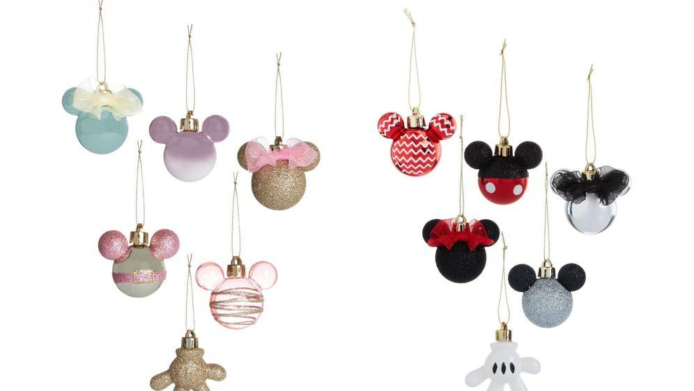 Božićni ukrasi s likom Minnie i Mickeyja Mousea iz Primarka