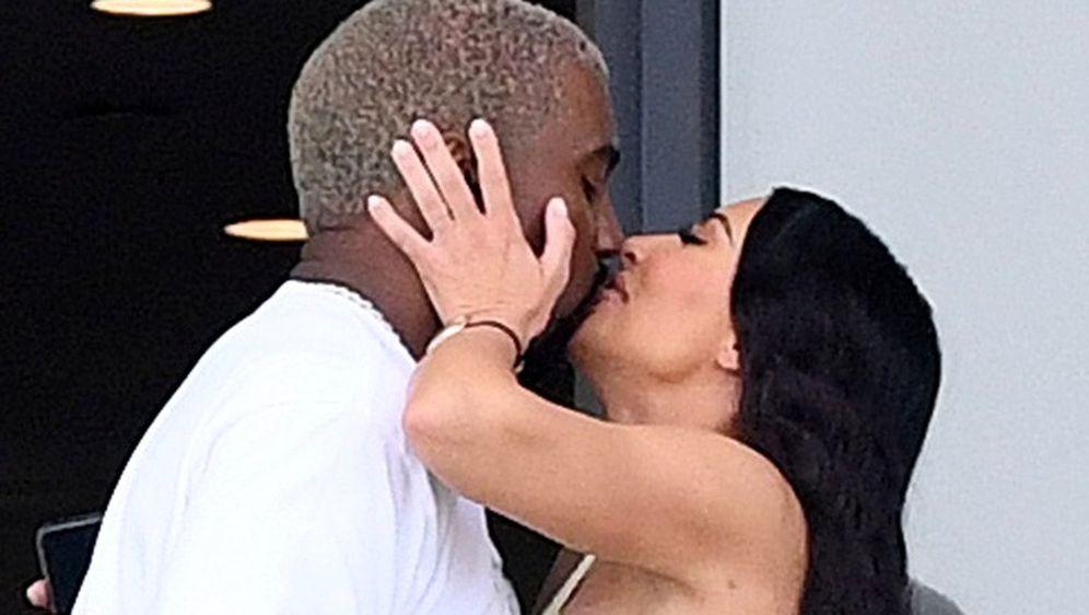 Kanye West i Kim Kardashian (Foto: Profimedia)