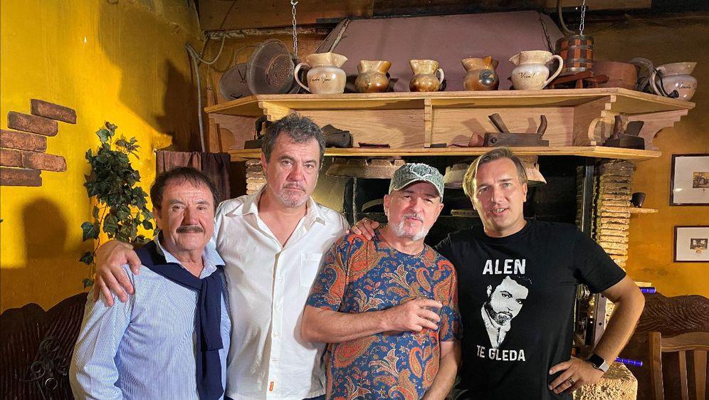 Elio Pisak, Alen Vitasović, Edi Maružin i Dražen Turina - Šajeta