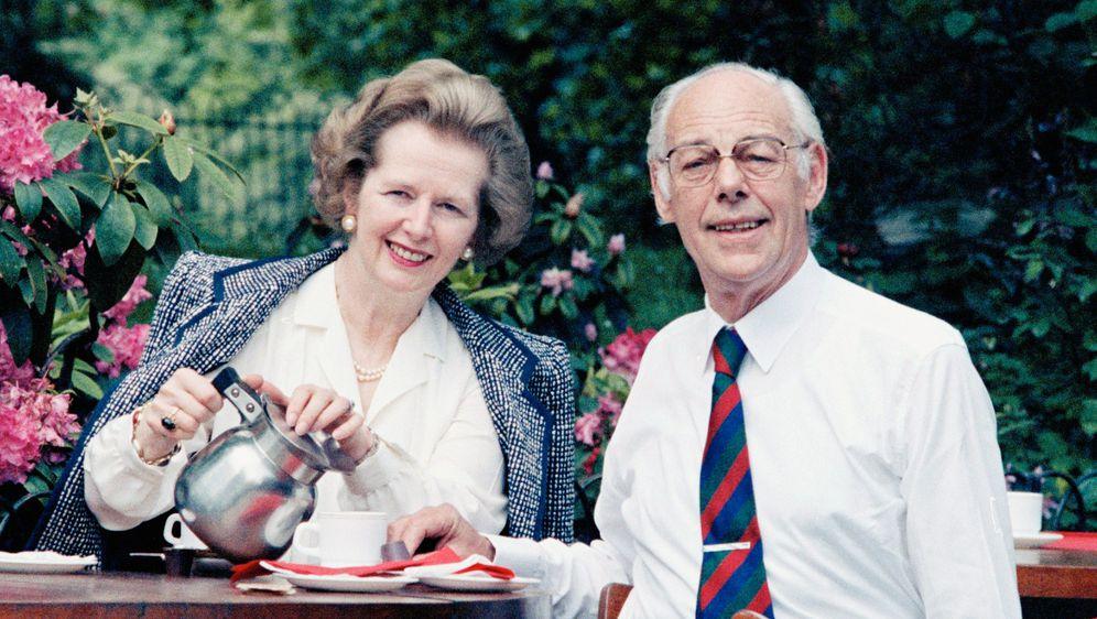 Margaret i Denis Thatcher