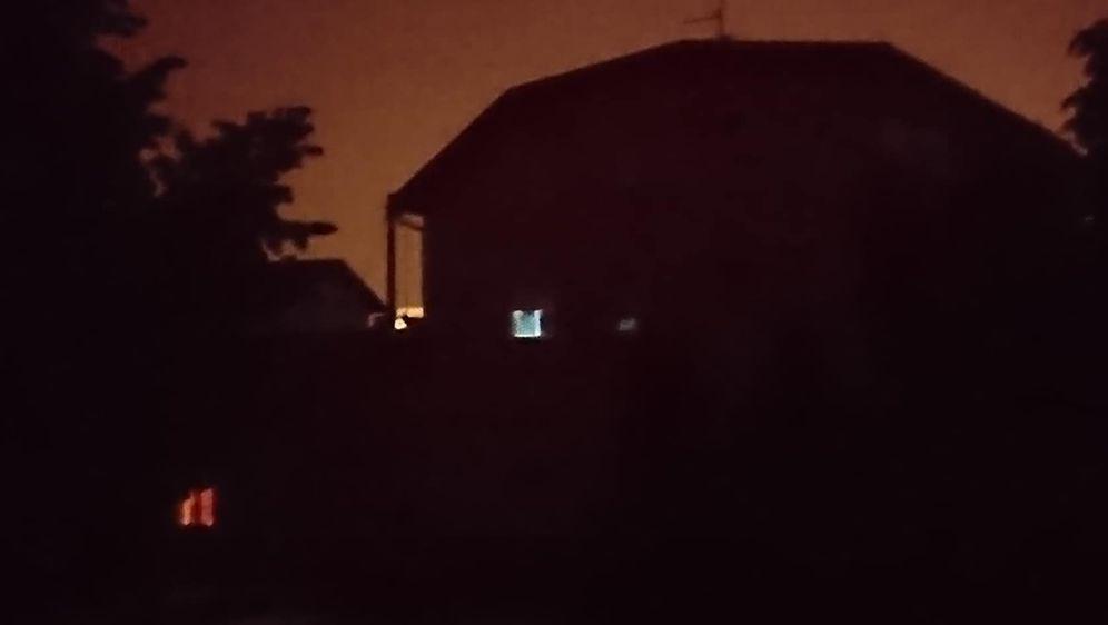 Trešnjevka bez struje (Foto: Čitatelj)