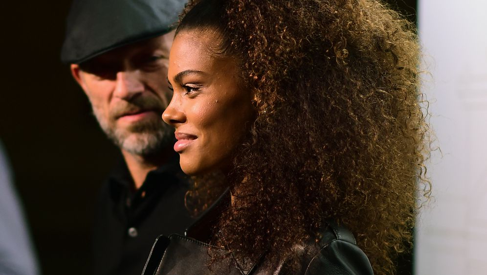 Tina Kunakey Vincent Cassell (Foto: Getty)