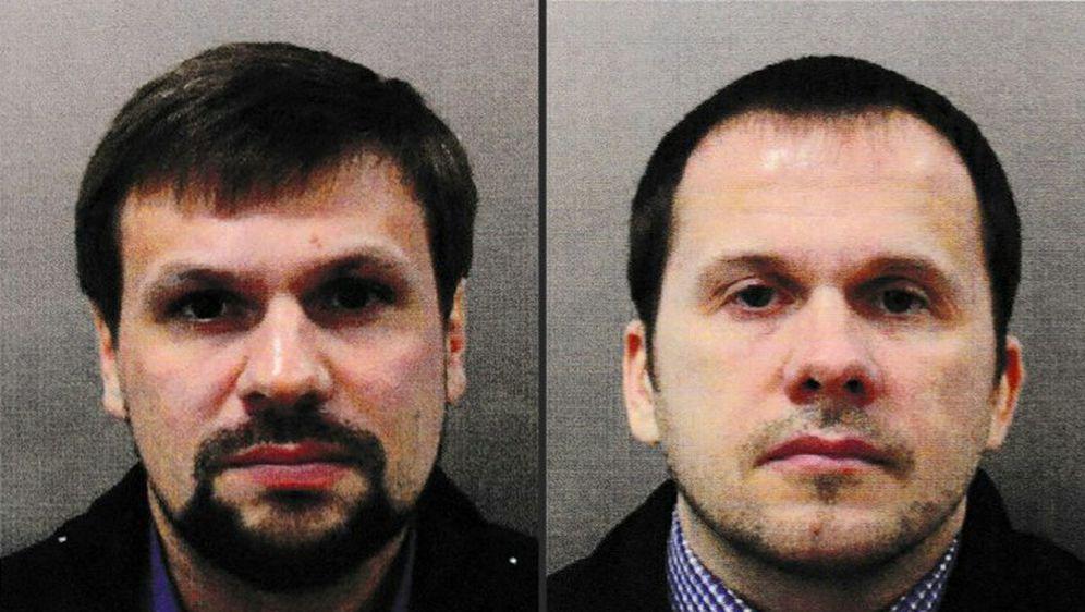 Dvojica osumnjičenih za trovanje bivšeg ruskog špijuna Sergeja Skripalja (Foto: AFP)