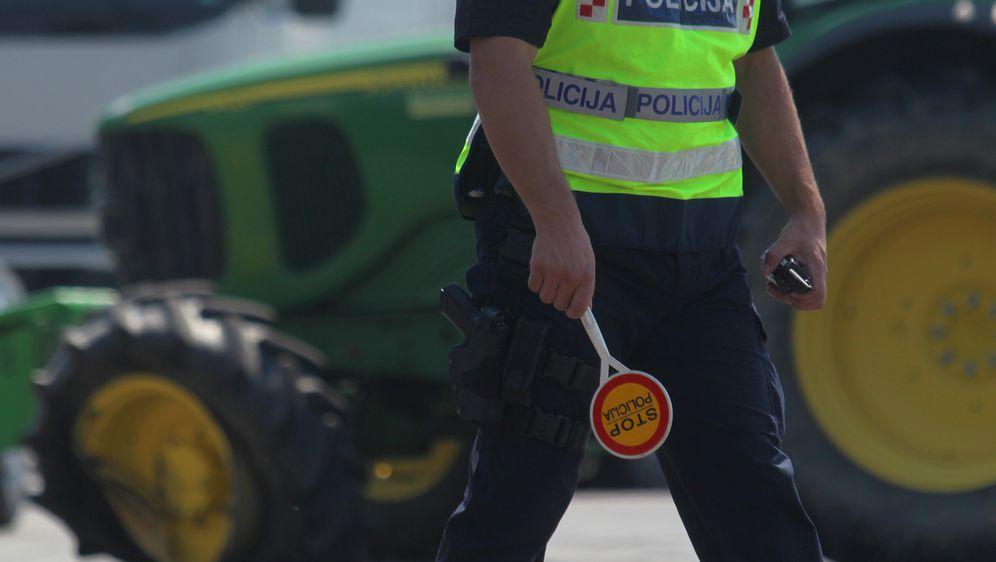 Prometna nesreća s traktorom (Foto/Arhiva: Marijan Susenj/PIXSELL)