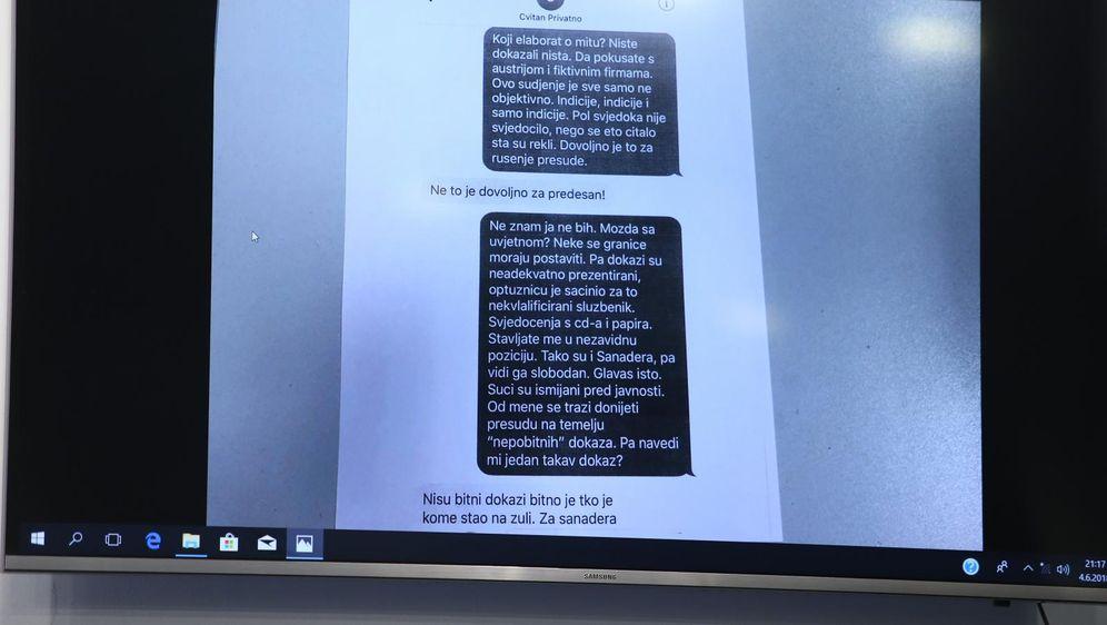 Lažirana SMS prepiska (Foto: Petar Glebov/PIXSELL)