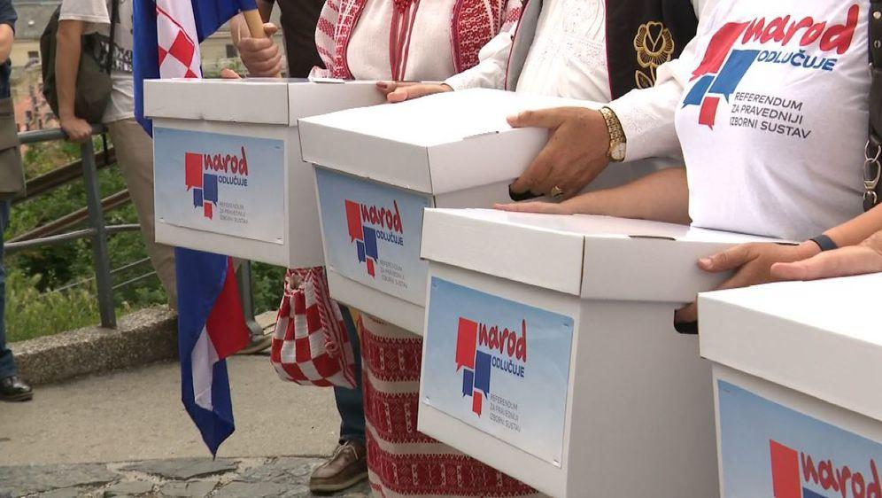 U građanskoj inicijativi Narod odlučuje nezadovoljni (Foto: Dnevnik.hr) - 2