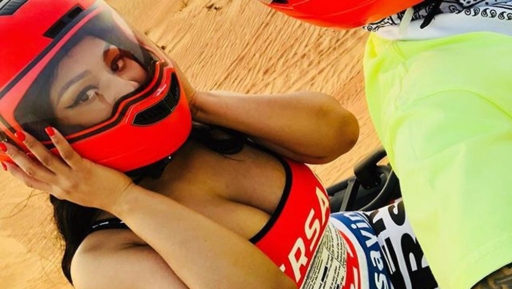 Nicki Minaj i Lewis Hamilton (Foto: Instagram)