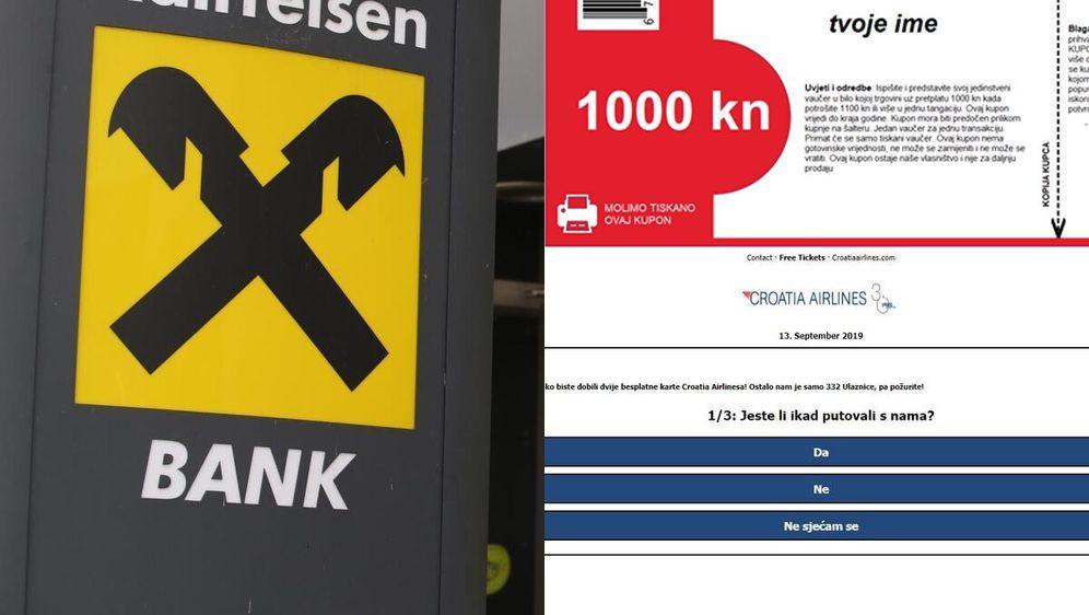 Lažne nagradne igre kruže društvenim mrežama (Foto: Ivo Cagalj/PIXSELL/Screenshot)
