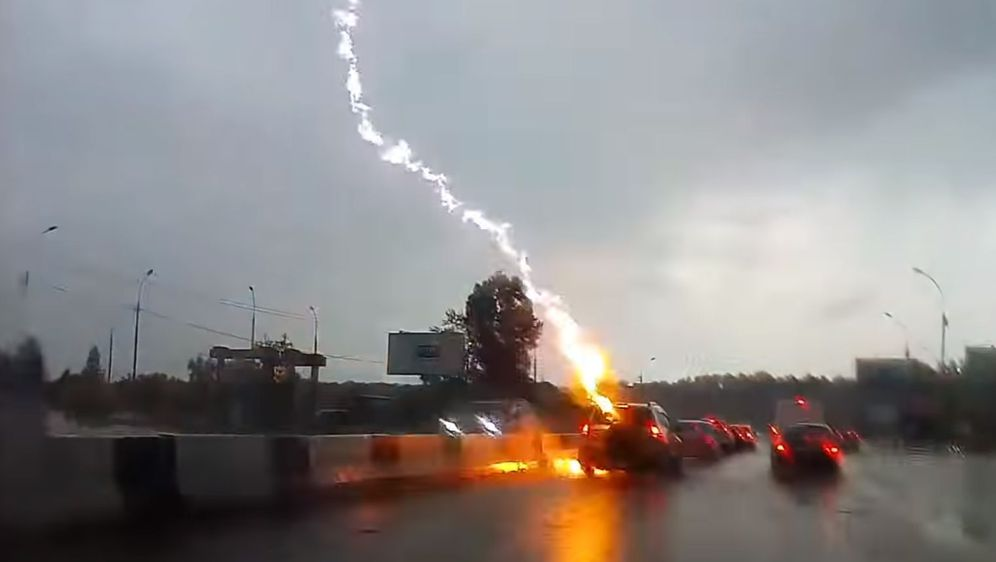 Udar munje (Foto: Screenshot/YouTube)
