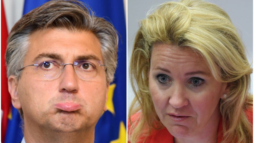 Plenković i Novaković (Foto: Pixsell)