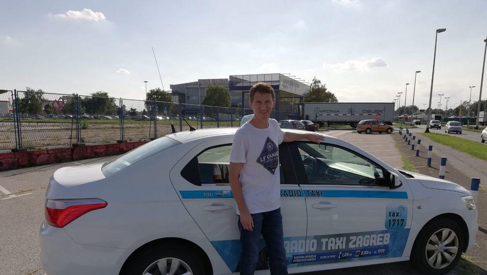 Taksist Željko Legac ne dostavlja račune (Foto: Dnevnik.hr)