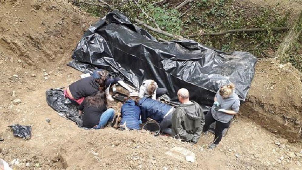 Pronađeni ostaci žrtava poraća (Foto: Ministarstvo hrvatskih branitelja)