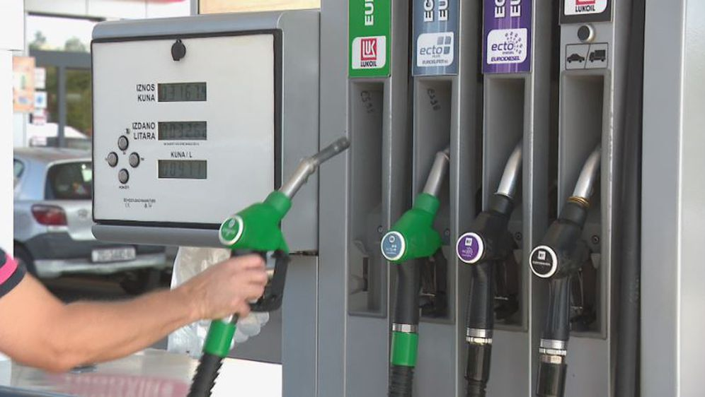 Na benzinskoj postaji (Foto: Dnevnik.hr)