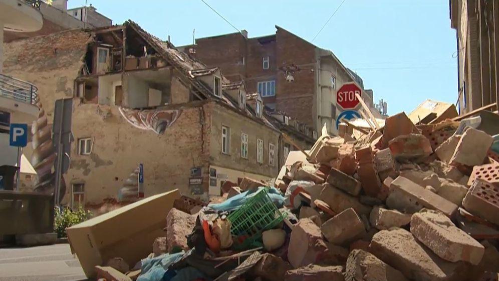 Šteta od potresa - Obnova Zagreba - 1