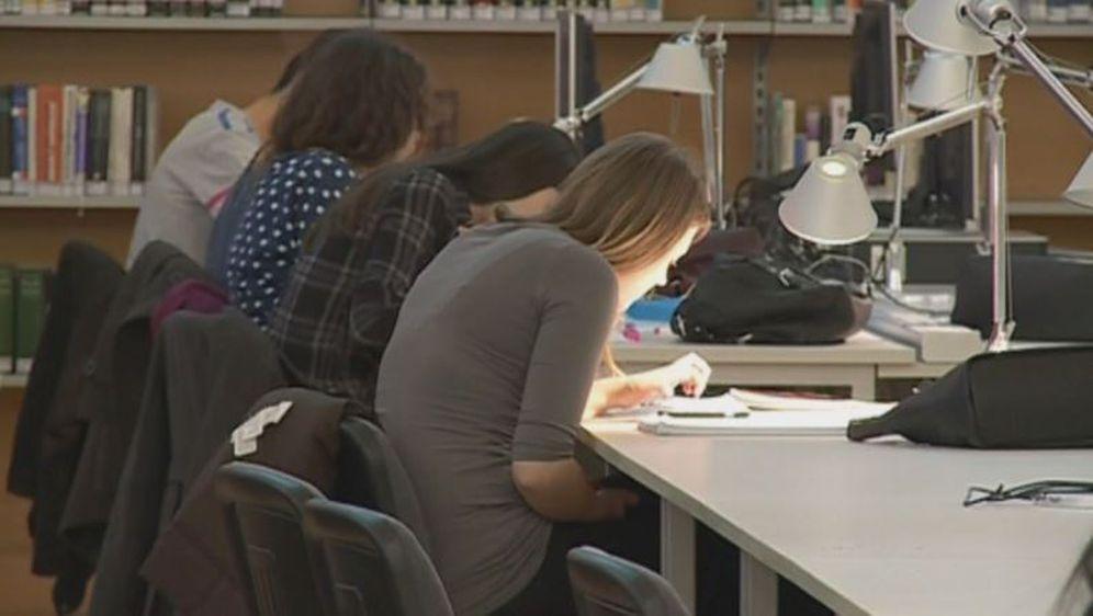 Studenti, ilustracija