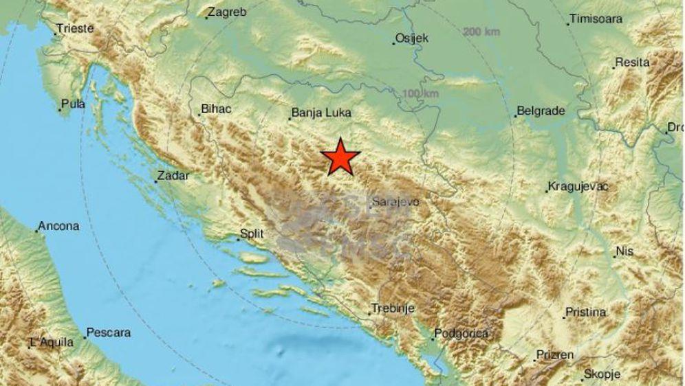 Potres u Bosni i Hercegovini
