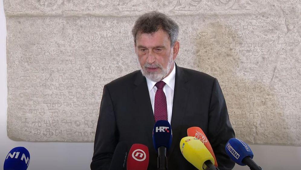 Ministar Radovan Fuchs