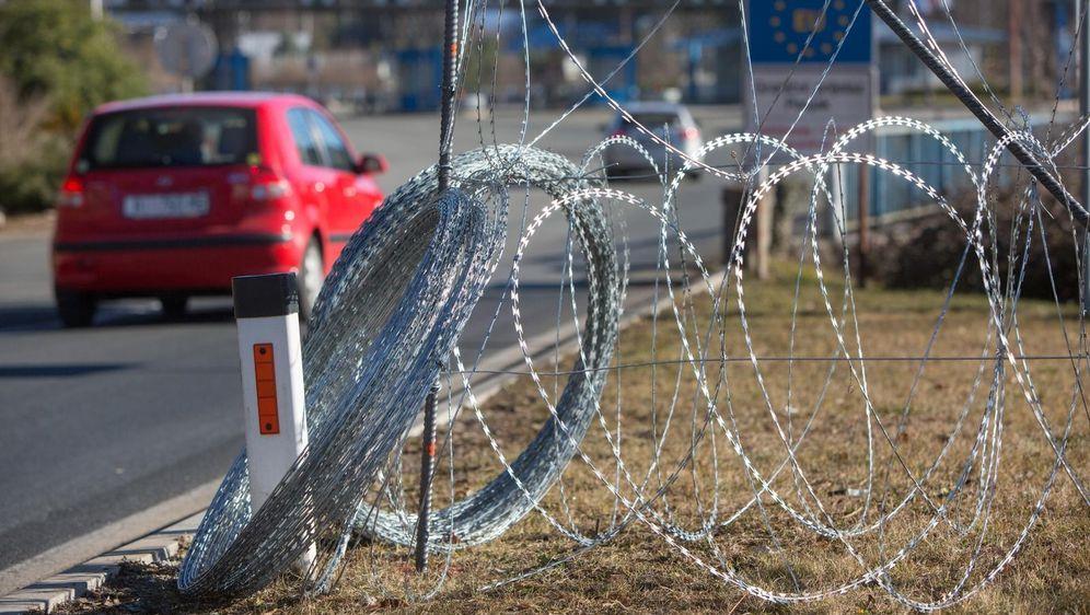 Žilet žica na hrvatsko-slovenskoj granici - 5
