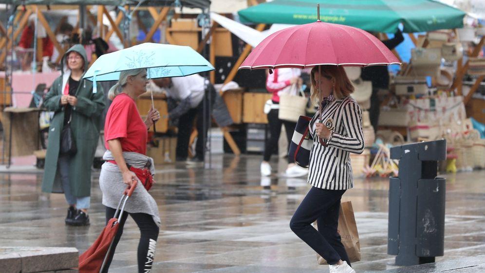 Kiša u Zagrebu - 1