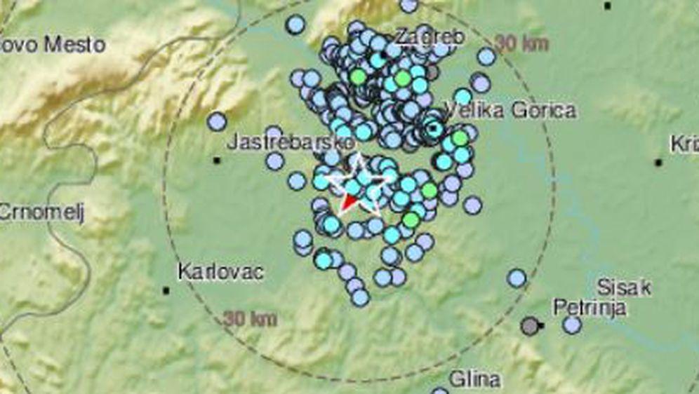 Potres na zagrebačkom području