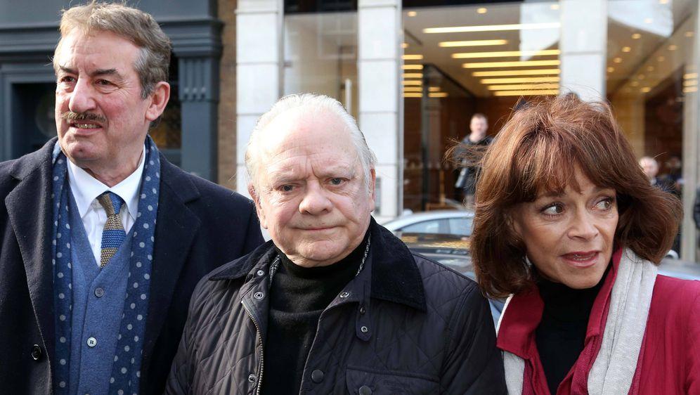John Challis, David Jason i Sue Holderness