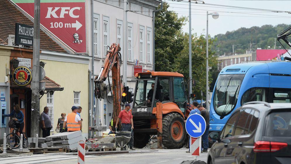 Rekonstrukcija tramvajske pruge / Ilustracija