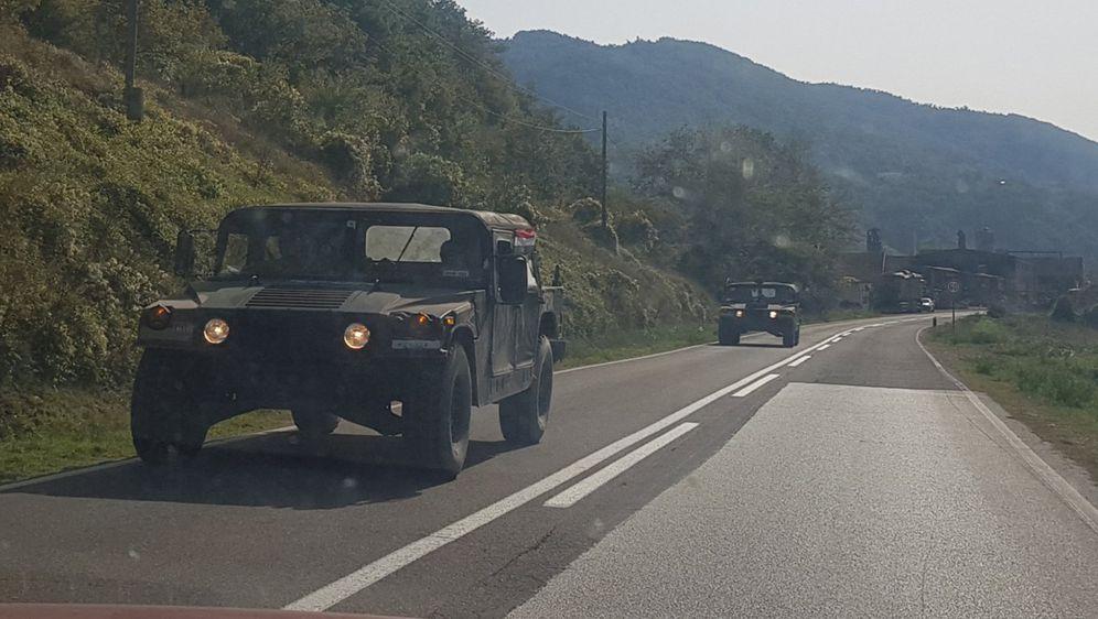 KFOR na sjeveru Kosova