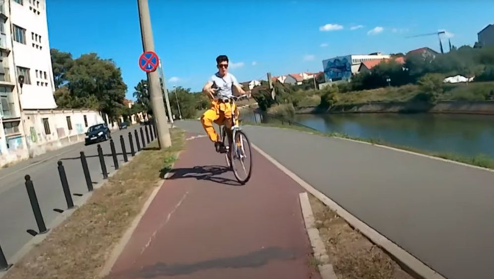 Sudar biciklista